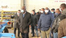 Деловой визит делегации из Республики Замбия